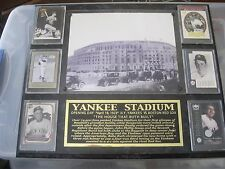 Yankee Stadium Opening Day April 18, 1923. Yankee vs Red Sox