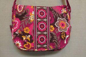 Vera Bradley Carnaby Messenger Book Bag