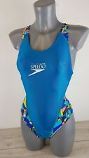 Speedo High Tech Ladies Swimsuit TrivathElite Size Small Turquoise  BNWT A172
