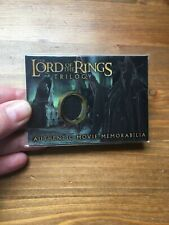 Topps Lord of the Rings costume trading card Witch King's Robe