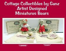 Ganz Cottage Collectibles Miniature Bears Janet & Terry