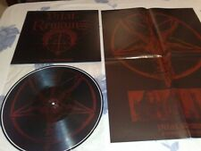 LP,Record 12':VITAL REMAINS-FOREVER UNDERGROUND(Picture vinyl+Poster)