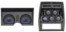 Dakota Digital 78-82 Chevy Corvette Analog Dash Gauges Carbon Blue VHX-78C-VET