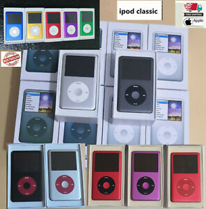 Apple iPod Classic 6th 7th generation  1TB, 512 ,256 ,160, 120, 80GB  - WARRANTY