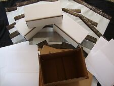 62 Item Shipping Pack 5 Envelopes 14.5x19 12x16 2 Boxes 8x4x3 8x6x4 With Labels