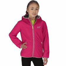 Regatta Volcanics Kids Jacket Fleece Lined Waterproof Girls Boys Coat