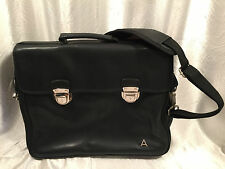 Avon Representative Black Crossbody Messenger Briefcase Bag