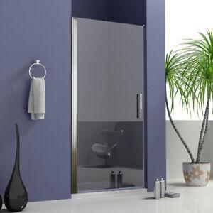 Nischentür Pendeltür Duschtür Schwingtür Duschabtrennung Dusche Duschkabine 6mm