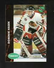 Dominik Hasek Rookie Card--Chicago Blackhawks--1991-92 Parkhurst Hockey