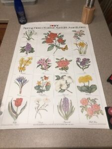 Milton Glaser I Love NY New York Spring Flower Festival Poster Wall Art 1983