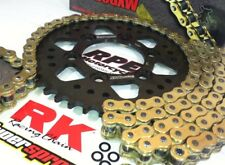 Honda CBR1000RR 2006-2007 RK GXW Gold 520 Quick Accel Chain and Sprocket Kit