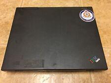 IBM Thinkpad A21m Type 2628 Laptop As-Is - NO HD OR PSU Pentium III