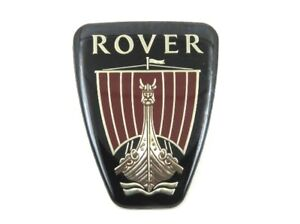 Genuine Brand New ROVER GRILLE BADGE Front Logo Emblem For 200 1989-1995 & 800