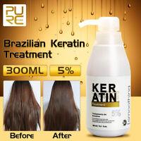 AU PURC 5% Hair Pure Keratin Straightening Treatment Care Repair Healing Hair