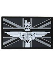Parachute Regiment Union Jack PVC Rubber Badge Military Tactical Patch Hook