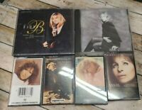 Barbra Streisand CD & Cassette Music Lot - 2 CD's and 4 Cassette Tapes