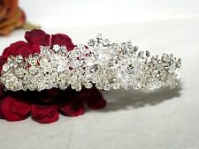 High end Swarovski crystal Crown wedding tiara bridal headpiece - WHOLESALE