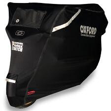 Oxford Protex Elástico MOTO premium ajuste elástico CUBIERTA EXTERIOR XL Negro