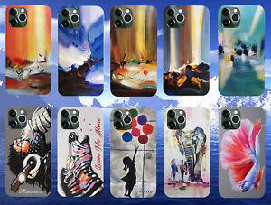 For Apple iPhone 12 Pro 12Mini 12Pro Max Personalized Case Soft Art Print Cover