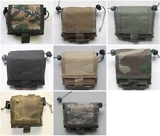 New Airsoft Molle Folding Dump Recovery Drop Pouch 6 Colors