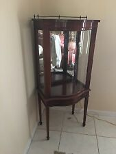 Antique Vitrine China Cabinet