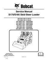 New Bobcat S175, S185 Skid Steer Loader 2009 Edition Service Manual 6904132