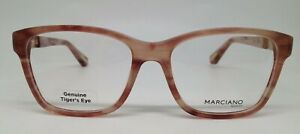 Marciano By Guess GM 258 Opal Pink 065 Plastic Eyeglasses 54-17-135 New RX
