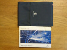 Peugeot Boxer Owners Handbook/Manual and Wallet 15-19