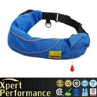 Top Quality Inflatable Belt SUP Life Jacket Life Vest Survival Aid PFD Manual