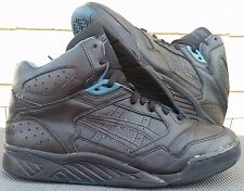 Asics Perimeter Hi Basketball men sz 12 black/spanish blue vintage 90s