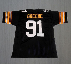 Custom Kevin Greene #91 Football Jersey Sewn Any Name Youth/Adult Black Unsigned