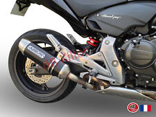 SILENCIEUX ARROW ALU DARK HONDA CB 600 F HORNET 2007/13 - 71722AON