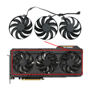 Fan RTX3080 For ASUS GeForce RTX 3060 Ti 3070 3080 3090 TUF OC GAMING CF9010U12D