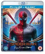 Spiderman: Far From Home (Bluray 3D) Includes 2D Bluray