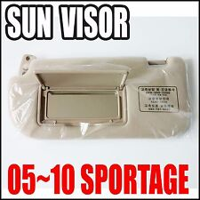 KIA 2005-2010 Sportage Interior Left Hand Beige SunVisor  Genuine 85202-1F020EZ