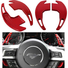 "Steering Shift Paddle Shifter Extension ""+ -"" SIGNS For 2015-2018 Ford Mustang #"