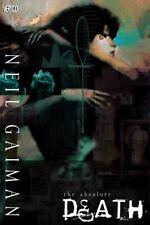 Absolute Death by Neil Gaiman and Alex Bleyaert (2009, Hardcover)