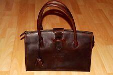 elegante  KLAUS  BREE   Damen  Leder  Henkel  Tasche  braun