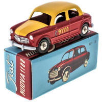 Nuova Fiat 1100 Bern Taxi Mercury Collection by Hachette - 1:48 Scale