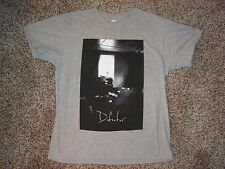 DEFEATER Letters Home T-SHIRT Gray (L) Large TOUR Concert BOSTON HC Band Tee