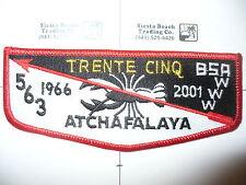 OA Atchafalaya 563, S-28,2001 - 1966, 35th Ann Lodge,Crawfish Flap,Evangeline,LA