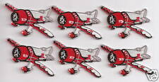 GEE BEE Airplane Aircraft Aviation Collectable Applique Pocket Patch 2 inch