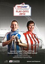 LEAGUE ONE PLAY OFF FINAL  2012 Huddersfield v Sheffield United