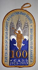 Boy Scouts of America LDS 100th Anniversary Patch - BSA Latter Day Saints