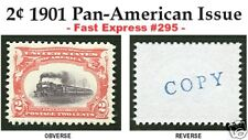 1901 PAN-AM EXPOSITION ISSUE U.S. #295 REPRODUCTION
