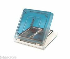 MOTORHOME CAMPERVAN ROOF LIGHT CLEAR VENT 40cm X 40cm WITH FLYSCREEN NET