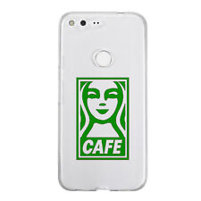 The Cafe Sticker Die Cut Decal Vinyl for mobile cell phone Smartphone Decor