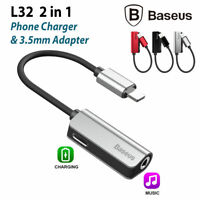 Baseus Lightning & 3.5 mm Headphone Jack Charger Adapter Cable iPhone XS Max XR