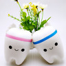 New Antistress Cartoon Tooth  Slow Rising Trick Soft Squeeze Tooth Toys