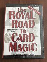 Royal Road To Card Magic Hugard and Braue DVD Read